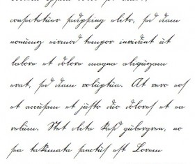 Century handwriting fonts set