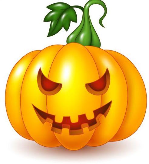Halloween Pumpkin Vector.Creative Halloween Pumpkin Vector Material Free Download