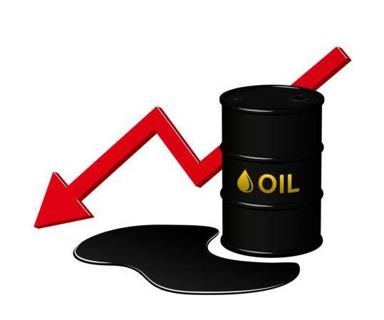 Decrease in oil vector
