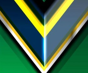 Geometric brazil color backgrounds vector