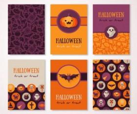 Halloween frick or freaf vector background