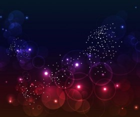Purple with red halation background vector