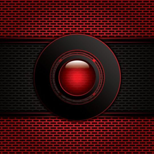 Red With Carbon Black Modern Background Vector 05 Vector