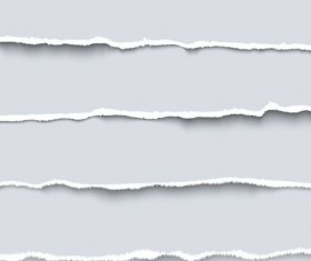 Ripped open paper stripes background vector 03