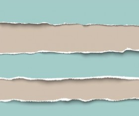 Ripped open paper stripes background vector 10