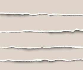 Ripped open paper stripes background vector 11