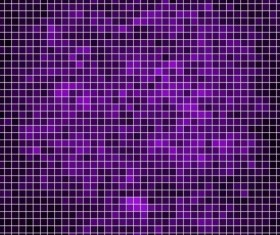 Sparkling square mosaic background vector 01