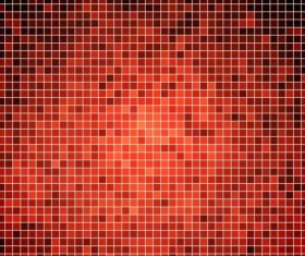 Sparkling square mosaic background vector 02