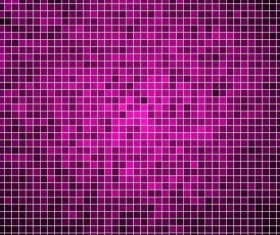 Sparkling square mosaic background vector 03