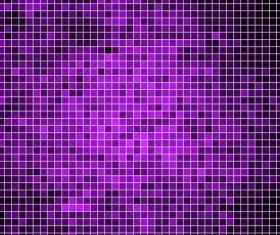 Sparkling square mosaic background vector 05