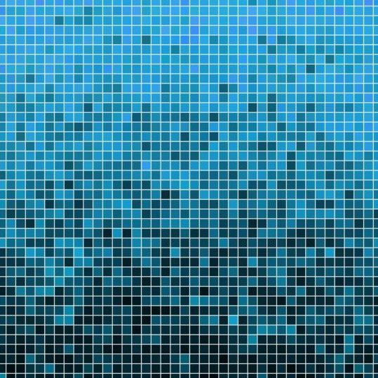 Sparkling square mosaic background vector 06