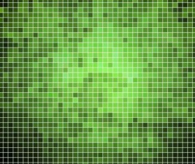 Sparkling square mosaic background vector 07