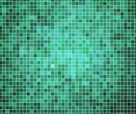 Sparkling square mosaic background vector 08