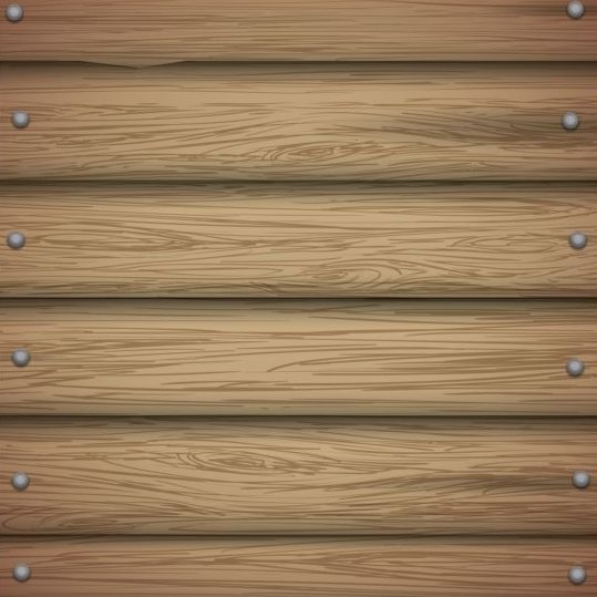 Wooden board with nails background vector 01