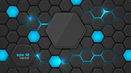 Hexagon Modern Background Vectors  Vector Free Download