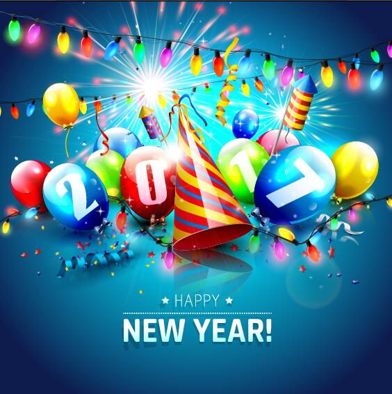file 2017 new year festival background vector download name 2017 new ...