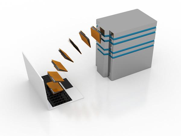3dComputer Network Stock Photo 12