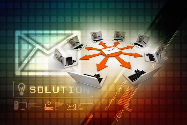 3dComputer Network Stock Photo 13