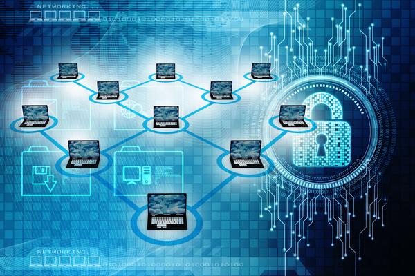 3dComputer Network Stock Photo 17