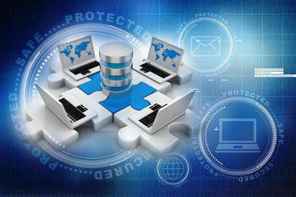 3dComputer Network Stock Photo 18