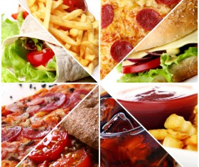 A variety of delicious food pictures