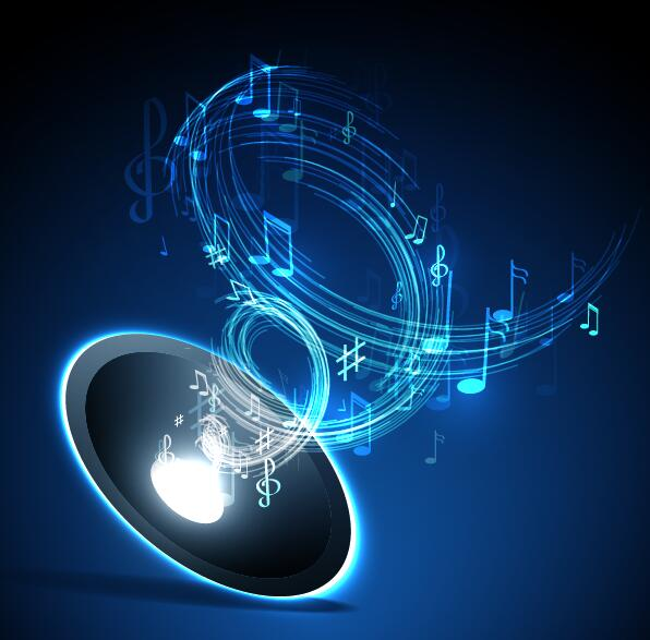 music background blue style vector 07 download name abstract music ...