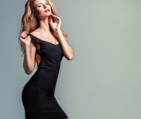 Beautiful Pretty Woman Fashion Photo