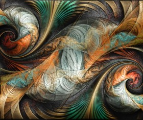 Bird abstract painting 01