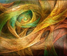 Bird abstract painting 02