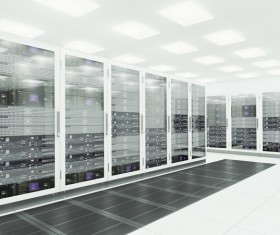Bright and spacious room Computer servers