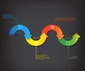 Business Infographic creative design 4553