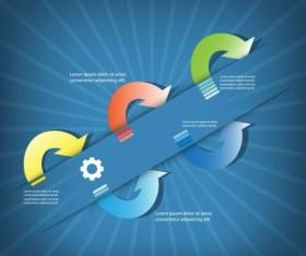 Business Infographic creative design 4558