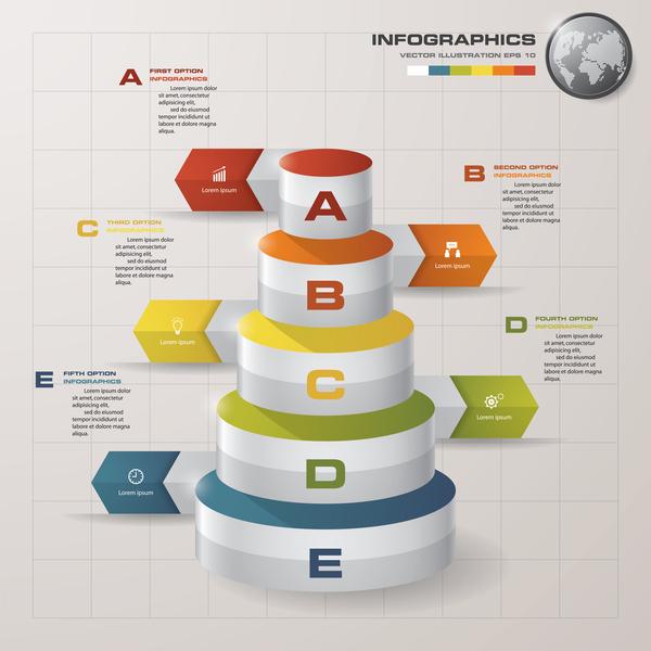 Business Infographic creative design 4579