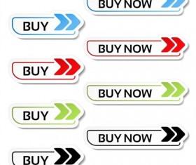 Buy web button vector