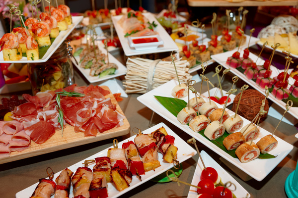 Canape ingredients are available food stock photo free for Canape with ingredients