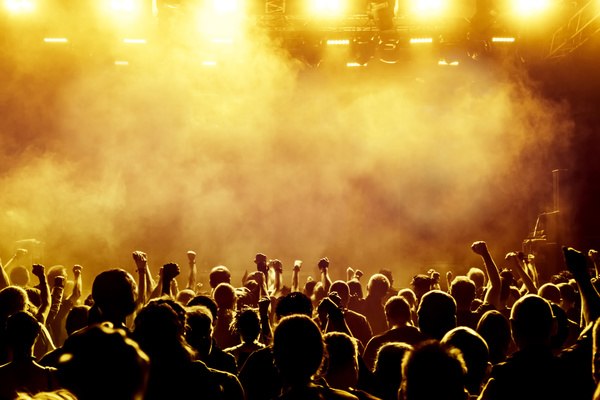 Cheering crowd at a rock concert hd picture 11 free download - Concert crowd wallpaper ...