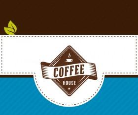 Coffee menu cover vectors 10
