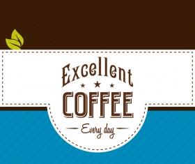 Coffee menu cover vectors 11