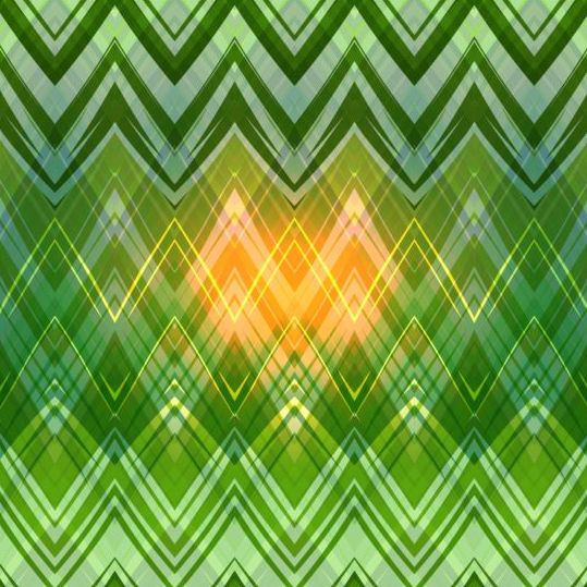 Colored zigzag pattern shiny vector 08