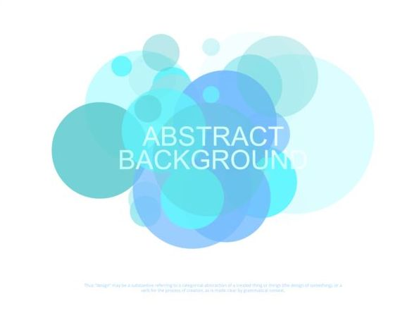 Colorful circles with abstract background vectors 10
