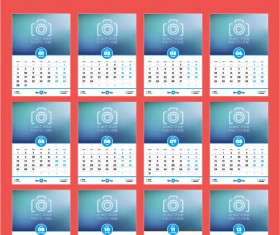 Calendar vector - Page 7 of 55 for free download