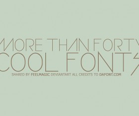 Download Creative Advertising Fonts Pack - Other Font free download