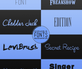Creative Advertising Fonts Pack