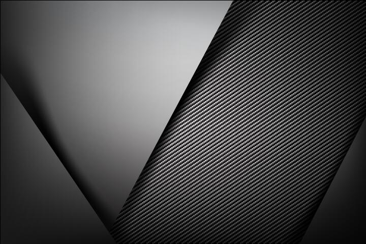 dark with carbon fiber texture background vector 04