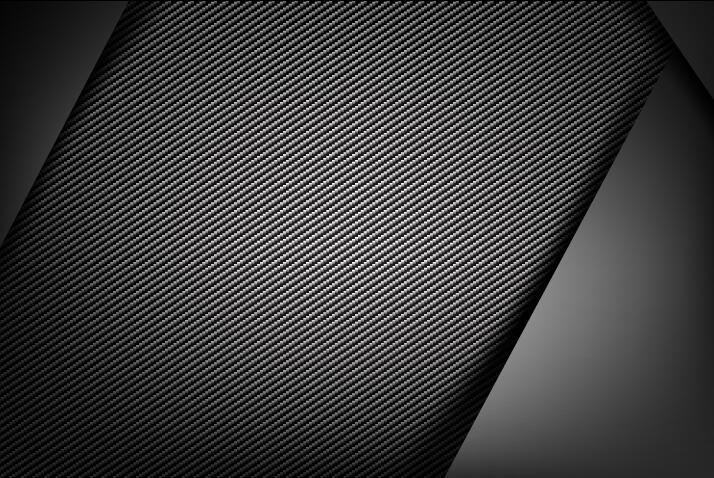 Dark With Carbon Fiber Texture Background Vector 05