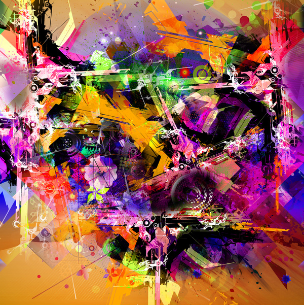 Dazzling colorful background Abstract stock photo free download