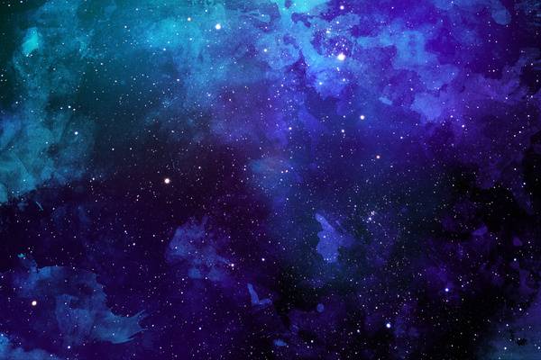 Deep blue space watercolor backgrounds stock photo free - Deep blue space wallpaper ...
