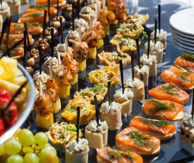 Delicious French party Stock Photo