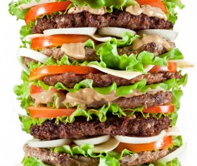 Delicious delicious big burger HD picture