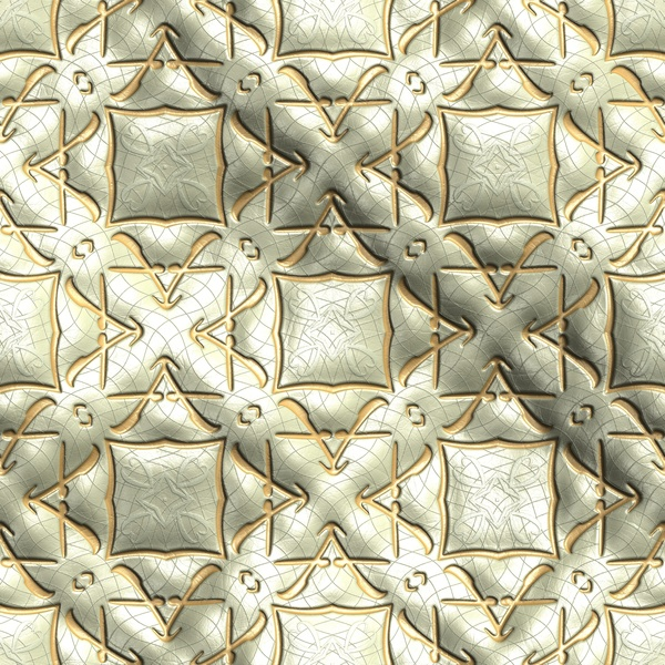 Diamond pattern and gold background